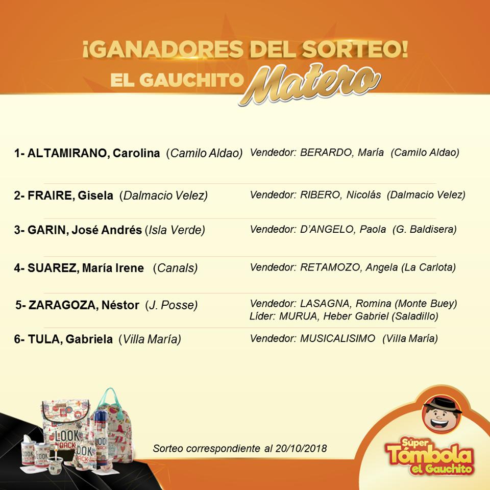 EL GAUCHITO: SORTEO DE KITS MATEROS