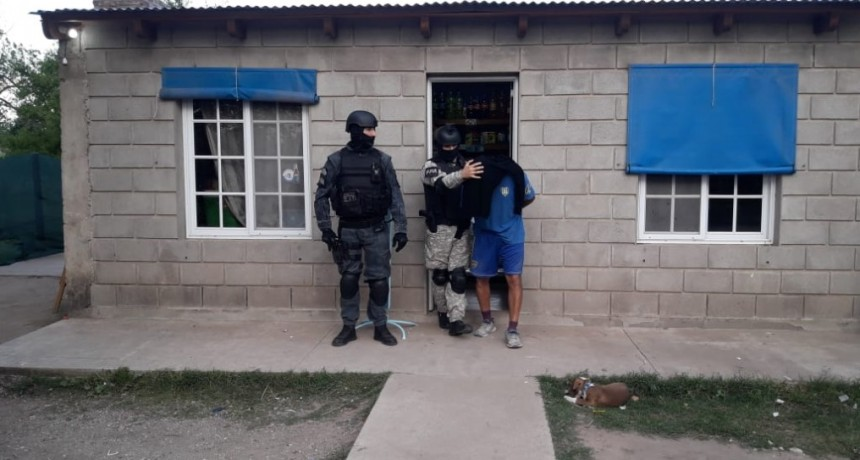 ALICIA: UN DT DETENIDO POR COMERCIALIZAR DROGAS