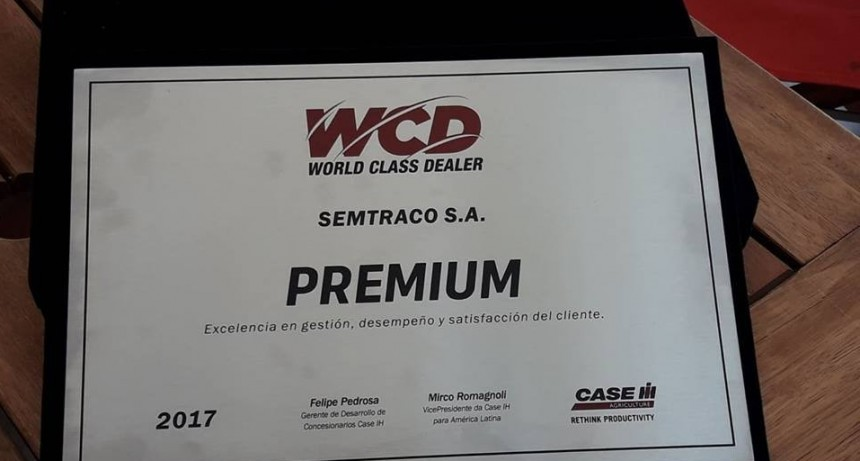 SEMTRACO CONCESIONARIO PREMIUM CASE IH