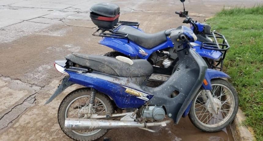 COLISIÓN ENTRE CUATRICICLO Y UNA MOTO