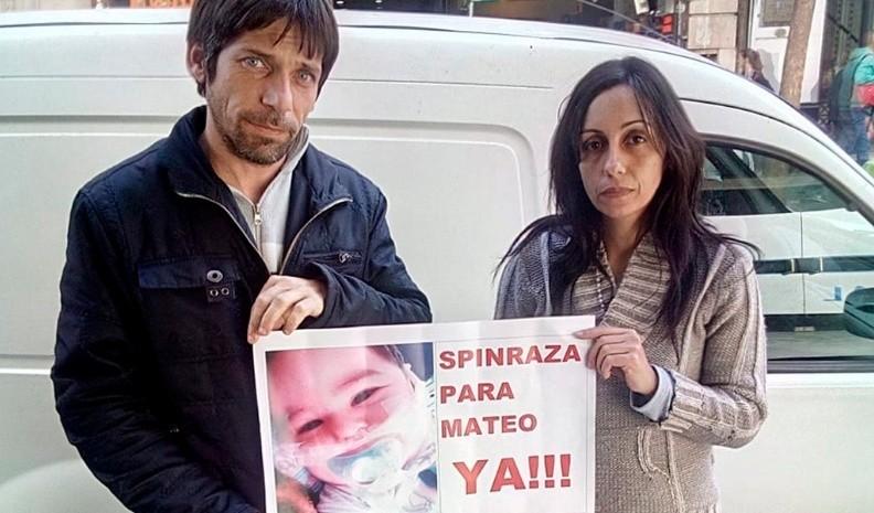 MURIÓ MATEO EL BEBÉ DE UCACHA CON ATROFIA MUSCULAR