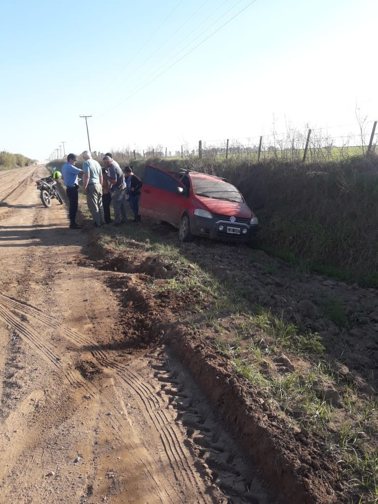 ACCIDENTE EN SOLITARIO EN EL RIPIO