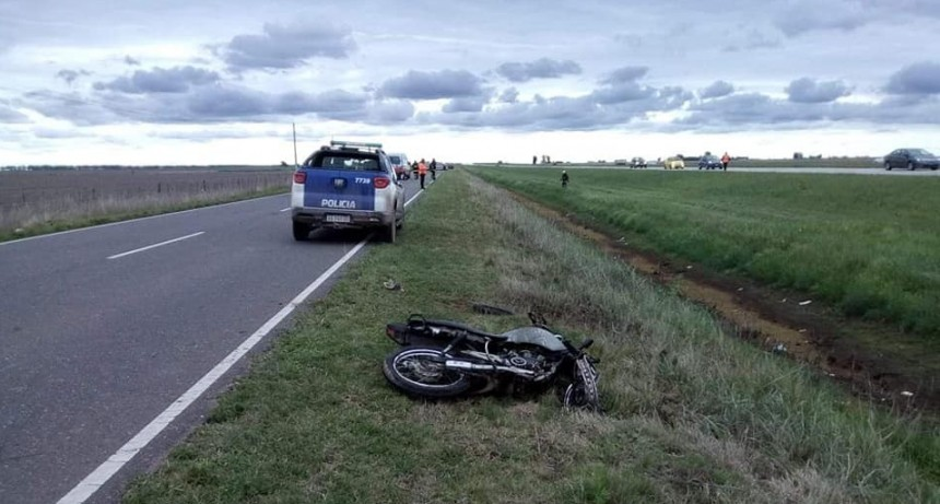 MOTOCICLISTA DE LEONES FALLECIÓ TRAS ACCIDENTE
