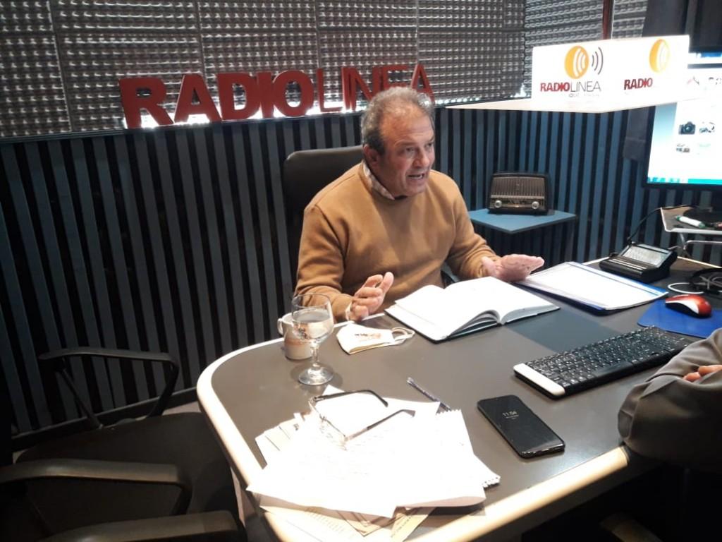 EDUARDO RÍOS HABLÓ DEL PAVIMENTO EN CALLE CORRIENTES