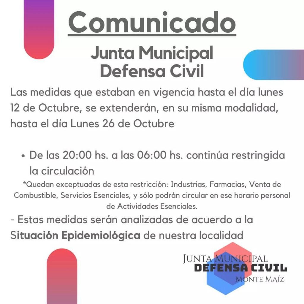 RESTRICCIÓN DE CIRCULACIÓN POR 14 DÍAS MÁS