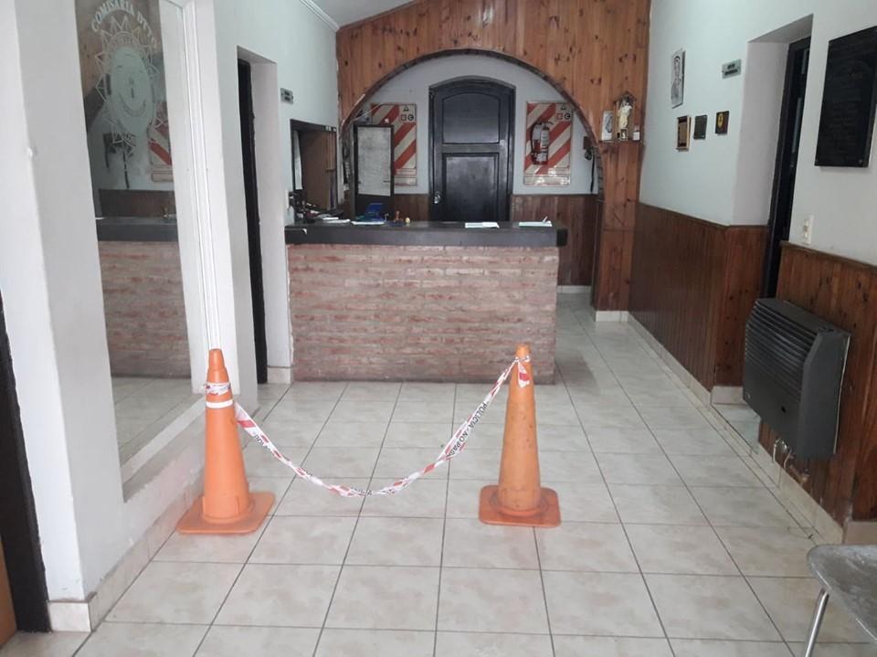 COLONIA BARGE: ROBO DE HERRAMIENTAS