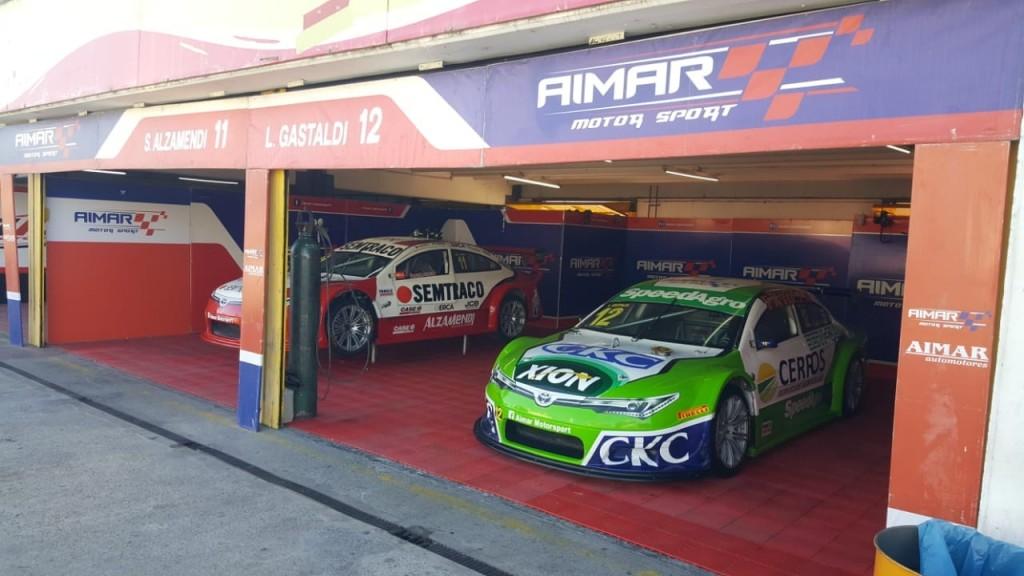 SEBASTIÁN ALZAMENDI EN EL TOP RACE SERIES