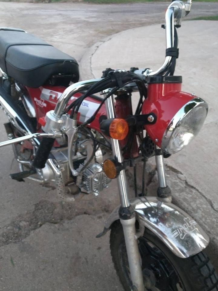 ACCIDENTE ENTRE AUTO Y MOTO EN EL CENTRO