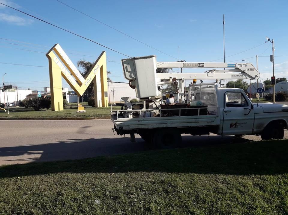 REPARARON INSTALACIÓN ELÉCTRICA EN EL ACCESO OESTE