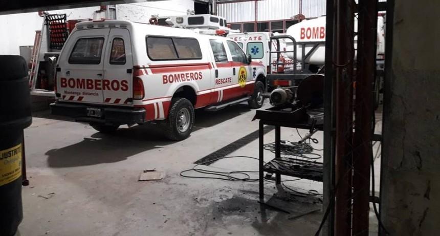 BOMBEROS: OBRAS DE REMODELACIÓN DEL CUARTEL