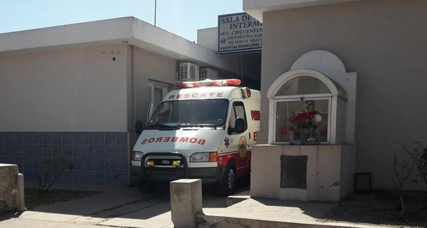 MUJER SE DESCOMPENSÓ Y FALLECIÓ EN EL HOSPITAL