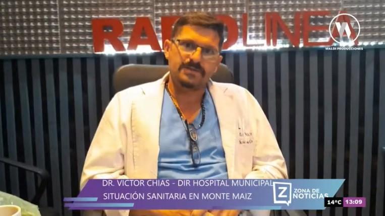 EL DR. VÍCTOR CHÍAS RENUNCIÓ A SU CARGO