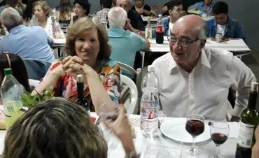 CENA POR LOS DOS AÑOS Y POR ALFONSÍN