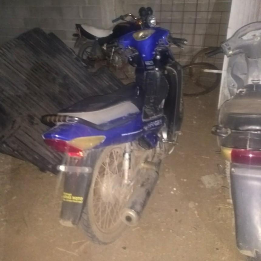 ACCIDENTE EN SOLITARIO DE UN MOTOCICLISTA