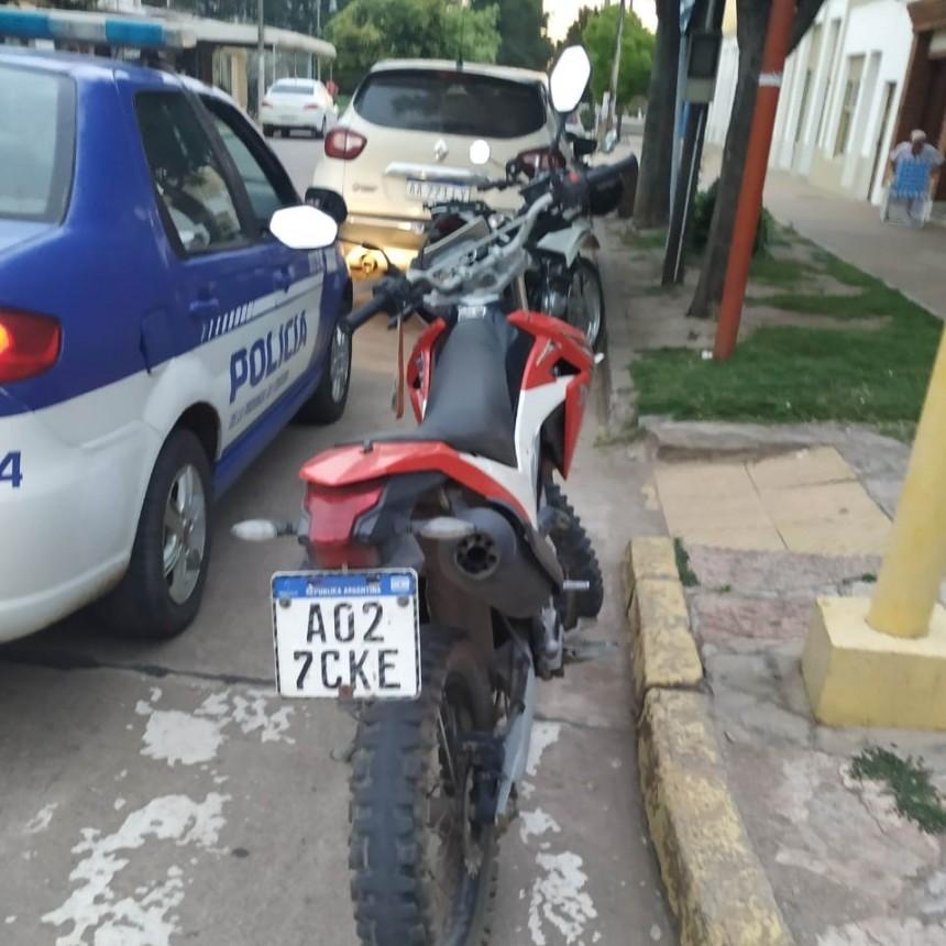 COLISIÓN DE MOTOS EN EL CENTRO