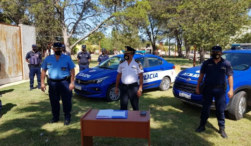 LABORDE: NUEVAS AUTORIDADES POLICIALES