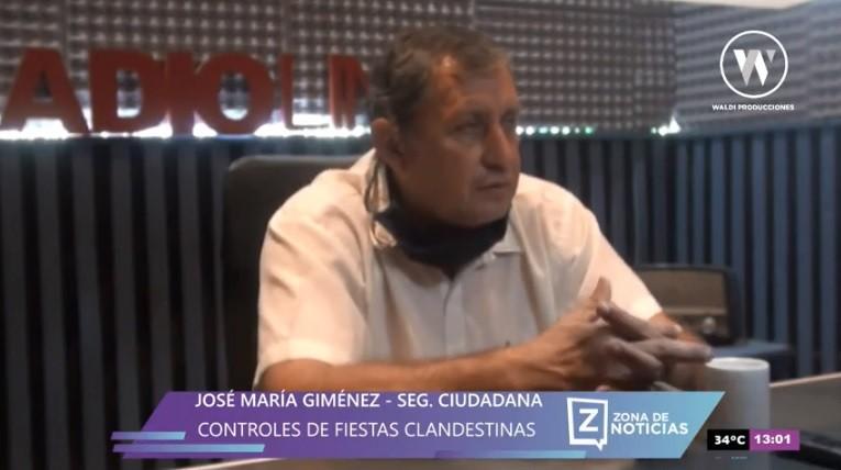 CONTROLES DE FIESTAS CLANDESTINAS