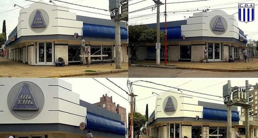MEJORAS EDILICIAS EN LA MUTUAL DE ARGENTINO