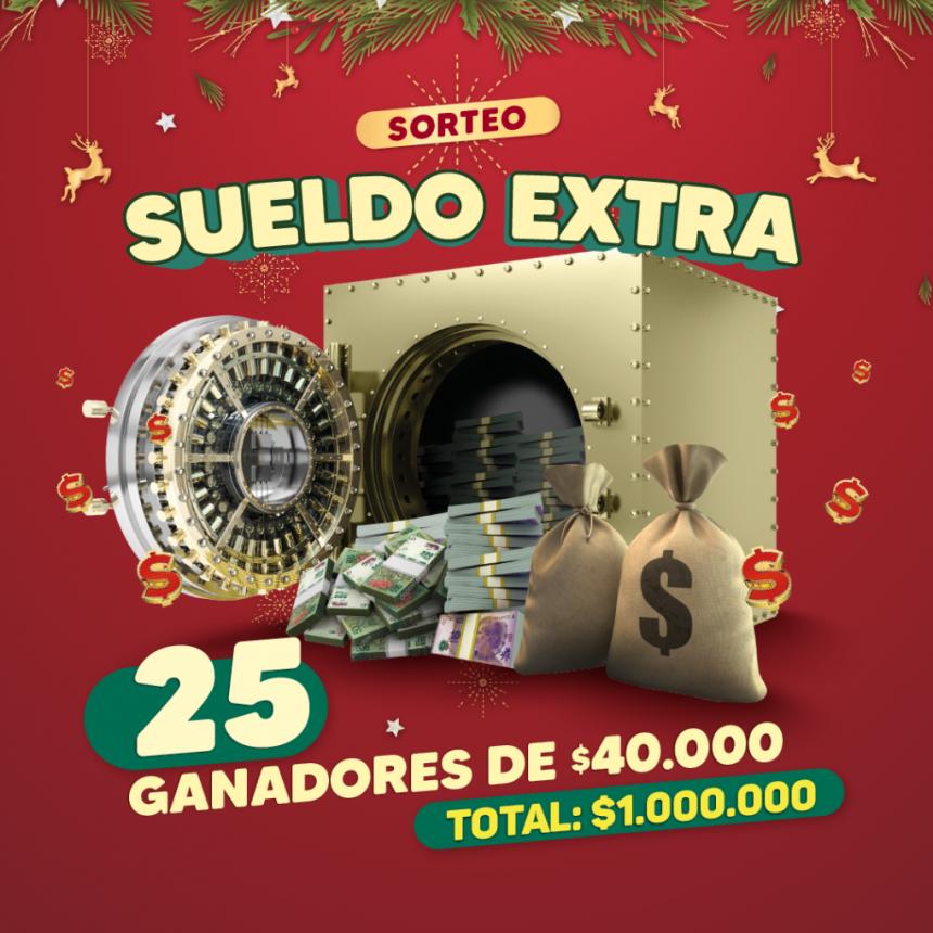 EL GAUCHITO REGALÓ LOS SUELDOS EXTRAS